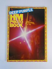 Rare Deep Purple Hm Heavy Metal Photo Book Paperback