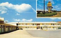 Conway Arkansas 1960s Postcard Townhouse Motel