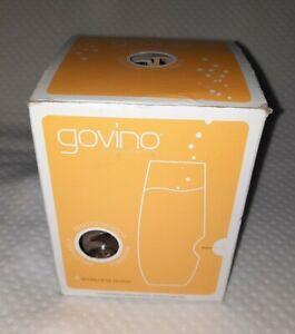 """New Set Of 4 Govino 8 oz Champagne Flutes BPA Free """"Go Anywhere"""" Wine Glasses"""