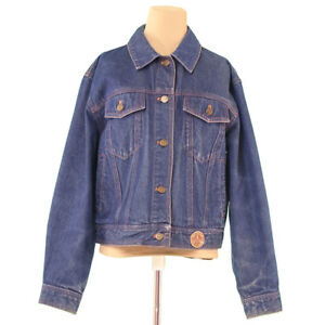 Moschino Coats Jackets Blue Woman Authentic Used L1792
