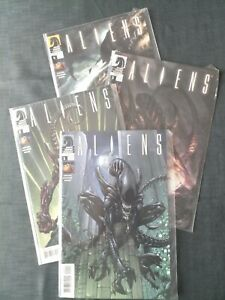Aliens (2009) #1-4 (Dark Horse Comics)