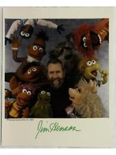 Jim Henson Signed Photo Lot 405