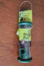 Jacobi Jayne Ring Pull bird seed feeder- easy clean design + 2 perch rings