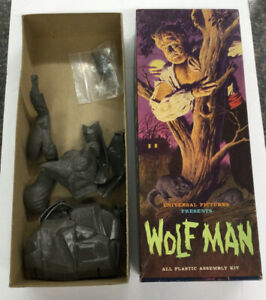 VINTAGE 1962 - THE WOLF MAN UNIVERSAL PICTURES (A17)