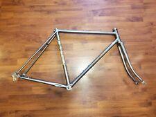 """Fuji Espree VALite Steel Tubing Road Bike Frame & Fork 27"""" Vintage"""