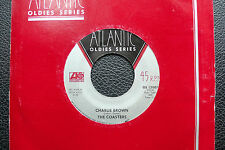 "7"" The Coasters - Charlie Brown/ I'm A Hog For You - US Atlantic"
