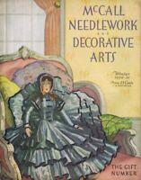 ORIGINAL Vintage Winter 1930 McCall Needlework & Decorative Arts Magazine
