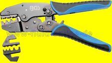 BGS 1412 Kabelschuhzange mit 2 Wechselbacken Crimpzange Quetschzange Presszange