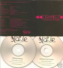 D.RAMIREZ Rewind Fast Forward promo 2-CD Kristophe Mark Knight James Mowbray