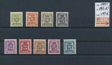 LM34485 Belgium 1941 precancels heraldic lion fine lot MNH cv 195 EUR