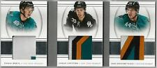 2013-14 PANINI NATIONAL TREASURES HERTL / COUTURE / VLASIC TRIPLE PATCH 20/25!!