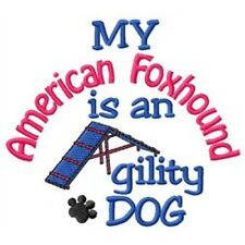 My American Foxhound is An Agility Dog Short-Sleeved Tee - Dc1836L