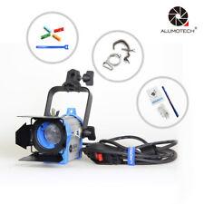 150W Fresnel Tungsten Spotlight  Lighting Camera Film Studio Video+Bulb+Barndoor