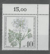 Ungeprüfte postfrische Briefmarken aus Deutschland (ab 1945) mit Blumen-Motiv