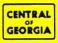 CENTRAL OF GEORGIA BOX CAR ADHESIVE STICKER for American Flyer S Gauge Trains