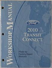 2010 Ford Transit Connect Factory Service Manual Original Shop Repair Book