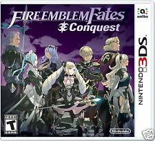 Fire Emblem Fates: Conquest - Nintendo 3DS | US VERSION, SEALED | FREE SHIPPING