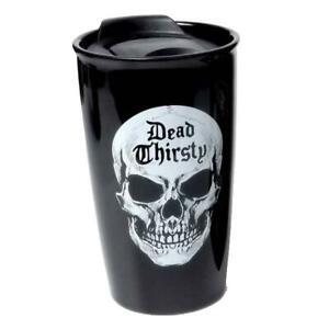 Alchemy Gothic Dead Thirsty Travel Mug
