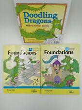 Logic of English - Foundations A Teacher's Manual Manuscript workbook Abc book