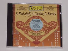 Sergei Prokofieff / Alfredo Casella / George Enescu (PIANO) CD
