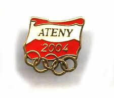 Athens 2004 NOC pins - POLAND OLYMPIC COMMITTEE pin dated