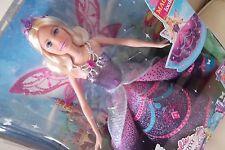 Barbie Mariposa Catania Fairy Princess Skirt Change Wings Move Up Doll
