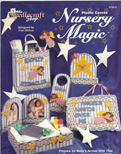 TNS NURSERY MAGIC in Plastic Canvas 7 Piece Set Patterns The Needlecraft Shop