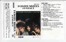 POINTER SISTERS - CONTACT  *RARE CASSETTE TAPE*
