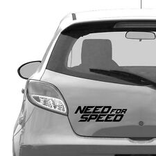 Need for speed Car Sticker, Car Bumper, Window, 21 cm width size - Car stickers