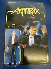 Super7 Heavy Metal Band Anthrax Among The Living ReAction Action Figure In Stock