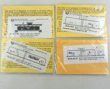 4 Herald King HO Decals:NKP Caboose,Packerland,CGT,ADM Tank Cars ~NIP~ 135:40