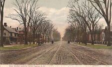 Main Street Looking North in Keene NH Postcard