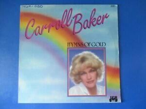 """Carroll Baker . Hymns of Gold . Why Me Lord / Amazing Grace . 1985 12"""" #2 Record"""