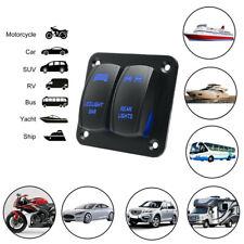 Blue Car Auto Rocker Switch Panel LED Light Bar & Rear Light 12/24V Accessories