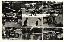 Bochum, Tierpark, Mehrbild-AK, ca. 30er/40er Jahre
