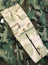 GORE-TEX TROUSERS ECW CAMO COLD WEATHER RAIN PANTS DESERT NSN 8415-01-475-3697