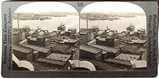 Keystone Stereoview Norfolk Navy Yard, Portsmouth, VA 1910's Education Set # B