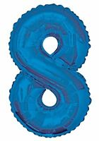 "34"" Giant Foil Number Large Helium or Air Balloons Happy Birthday Party Gifts"