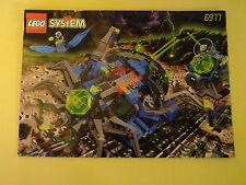 Lego 6977 Arachnoid base Oba-insectoids, Space, sin figuras