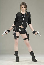 Treasure Huntress Holster & Gun Set Lara Croft Tomb Raider Costume Accessory