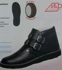 Majo Dachdecker-Schnallenstiefel Schuhe Autoreifensohle schwarz Gr.41 - 47 NEU