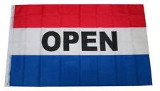 Open Flag 3x5 Feet Horizontal Business Sign Banner