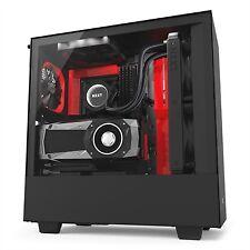 Nzxt caja Semitorre ATX H500i negro mate - rojo Pmr03-916967