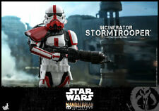 "HOTTOYS 1/6 Scale TMS012 Incinerator Stormtrooper The Mandalorian 12"" Figure Toy"
