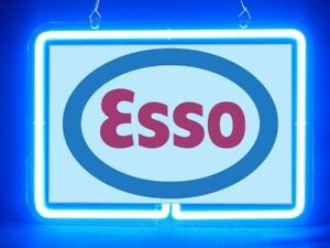 Esso Oil Car Gas Pub Bar Display Advertising Neon Sign