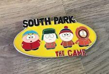 South PARK il Game in Metallo Smaltato Fibbia Della Cintura-BUONE CONDIZIONI-DA COLLEZIONE-RARE