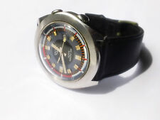 VINTAGE WALTHAM LIP SKI-NAUTIC SUPER COMPRESSOR ELECTRODYNE STEEL DIVER WATCH