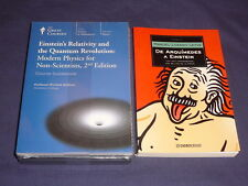 Teaching Co Great Courses  CDs        EINSTEIN's RELATIVITY       new + BONUS