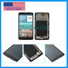 LCD Display Touch Screen Digitizer Assembly + Frame Fr LG G Vista D631 VS880 BLK