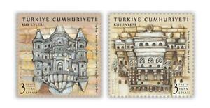 TURKEY / 2021 - BIRD HOUSES, ANIMALS, ARCHITECTURE